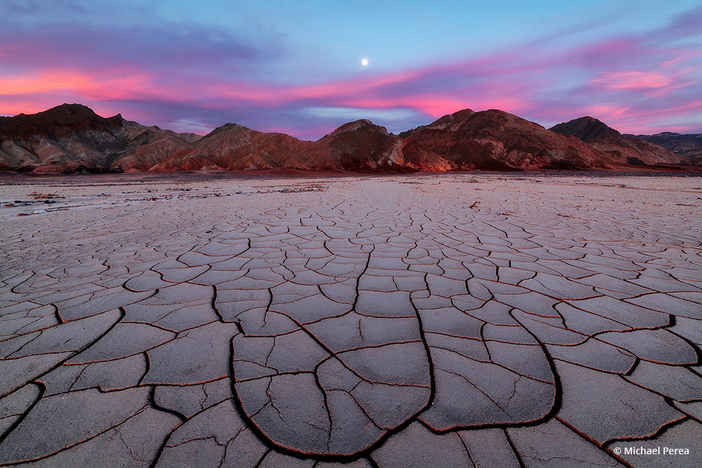 """Today's Photo Of The Day is """"Death Valley Colors"""" by Michael Perea. Location: Death Valley National Park, California."""