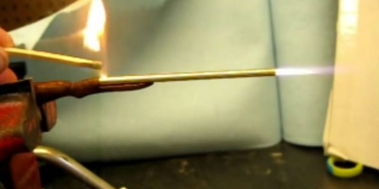 This Miniature Musket Actually Shoots!