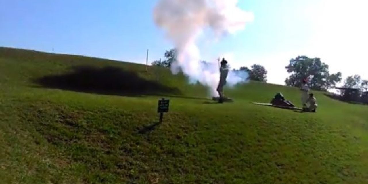 Video: Firing the 4-1/2-Inch Bronze Coehorn Mortar