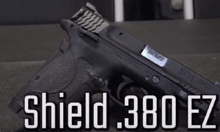 Video: Reviewing the S&W .380 Shield EZ in 90 seconds