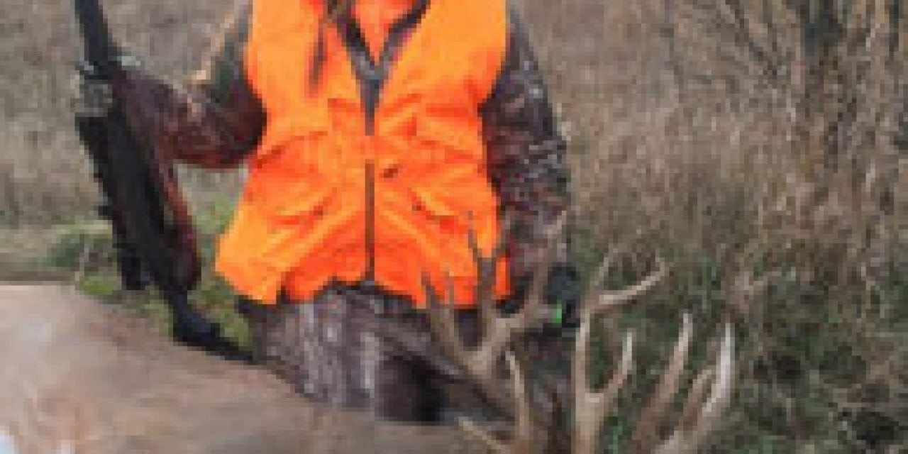 Window of Opportunity Opened for Huge 16-Point Buck