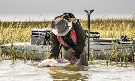 YakStick Gives Kayak Anglers Anchoring Opportunities