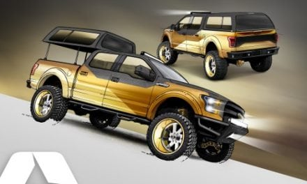 A.R.E. ACCESSORIES OUTFITS 2016 FORD F-150 PROJECT TRUCK WITH GOLD STANDARD UPGRADES