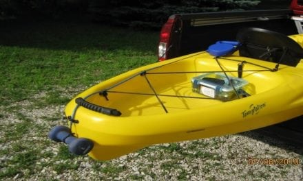 DIY Kayak Fishing Anchor Using Retractable Dog Leash