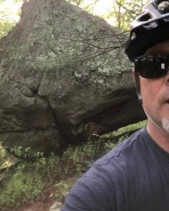 Mountain Biking in Hillsdale - Josh Comerfort