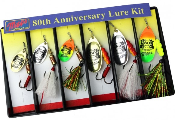 Mepps 80th Anniversary Lure Kit For Dad