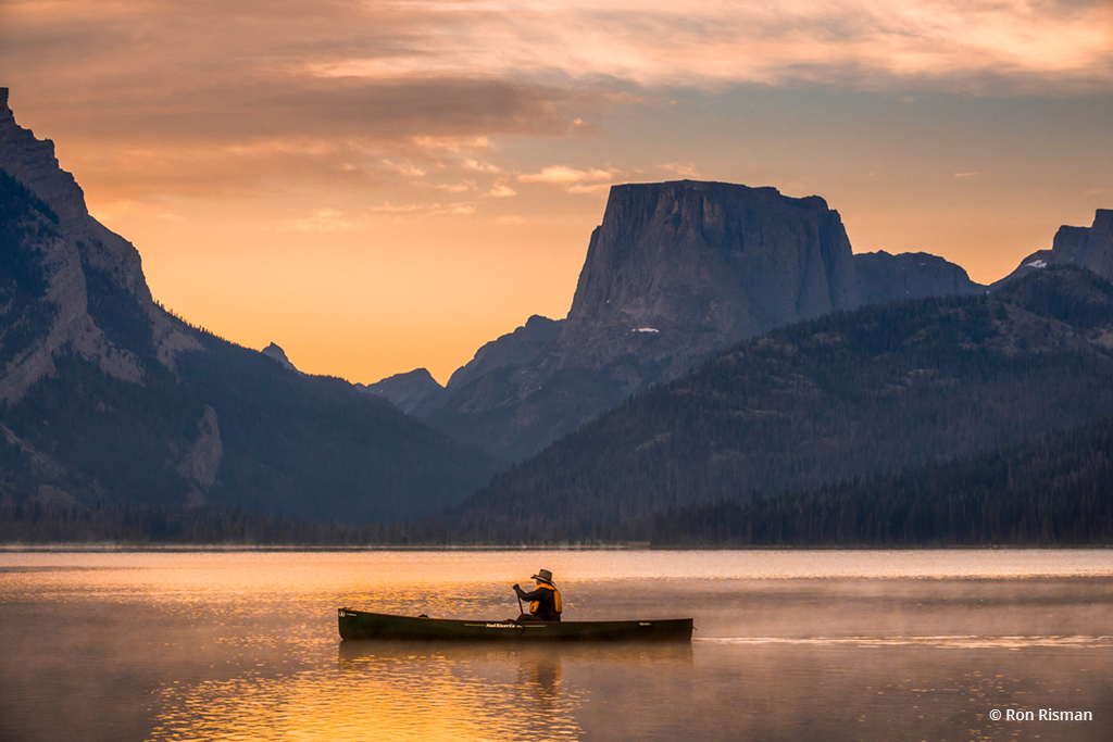 """Today's Photo Of The Day is """"Waking up in Wyoming"""" by Ron Risman 