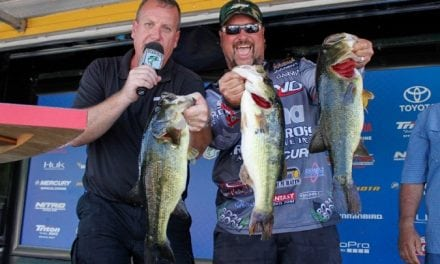 Roumbanis Rambles Into Lead in Bassmaster Open At The Atchafalaya Basin