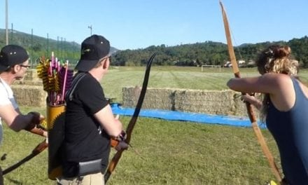 This New-Fangled Archery Competition is Anything But Boring