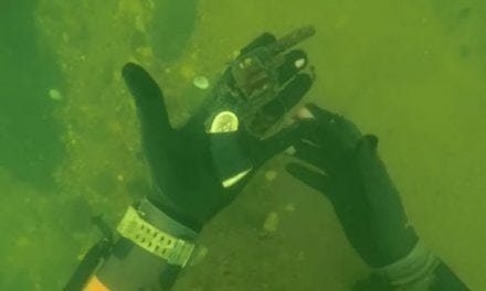 Video: Diver Finds a Tiny Ditched Revolver at the Bottom of a Georgia River