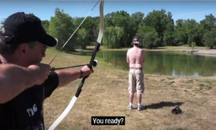 Video: How Hard Do Those Arrows Hit During Archery Tag?