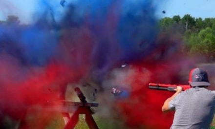 Video: How Many Cans of Spray Paint Will a Shotgun Shoot Through?
