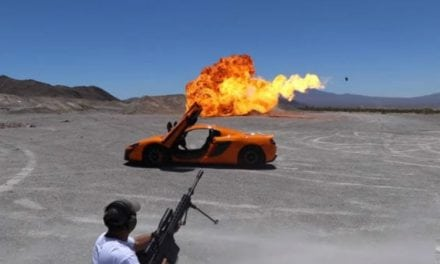 Can This Guy Shoot a .50-Cal Through a $250,000 Sports Car Without Damaging It?