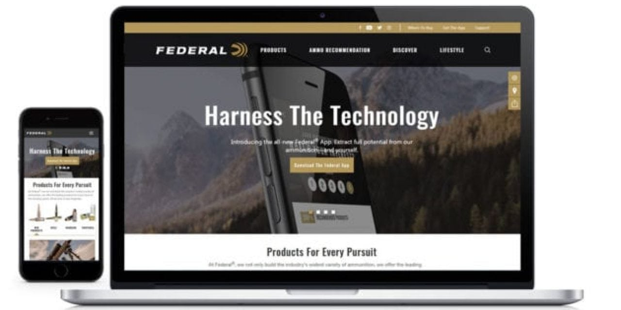 Federal Premium Ammunition Launches New Website