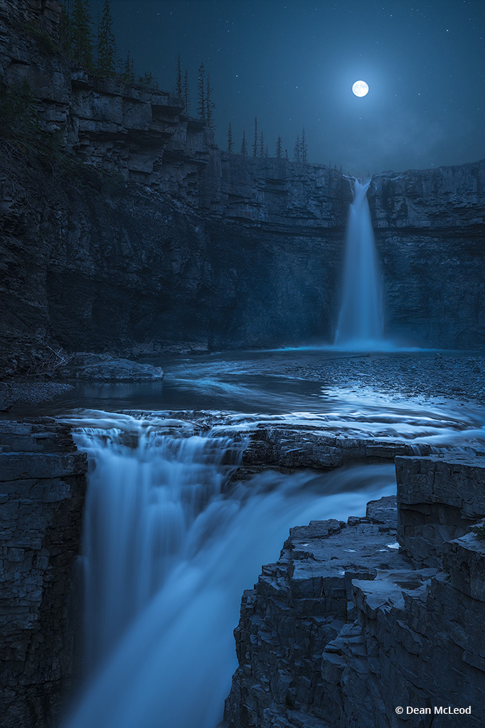 """Congratulations to Dean McLeod for winning the recent Go With The Flow Assignment with the image, """"Crescent Falls."""""""