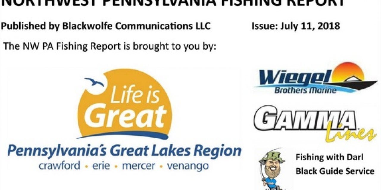 NW PA Fishing Report For Early July 2018