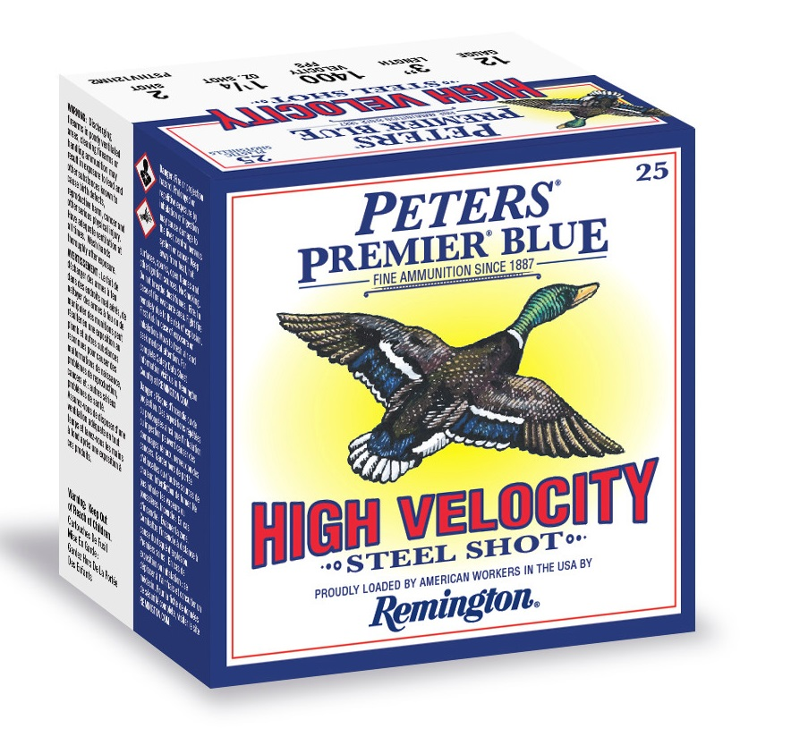 Peters Premier Blue waterfowl ammunition
