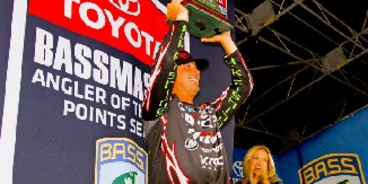Swindle Wins Second Angler Of The Year Title
