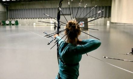 Video: This Girl Keeps Arrows in Her Hair