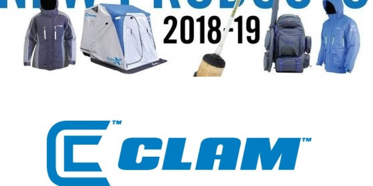Clam Outdoors Launches New 2018-19 Ice Fishing Products!