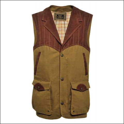 This Famars Shooting Vest is part of the Famars branded clothing portfolio.
