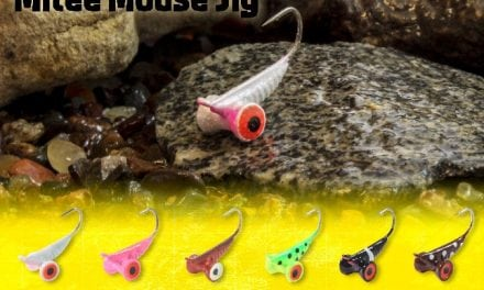 Northland's New Bug-Eyed Mitee Mouse Jig
