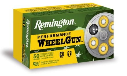 Remington adds new loads to Performance WheelGun Ammunition