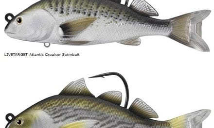 The LIVETARGET Croaker Swimbait