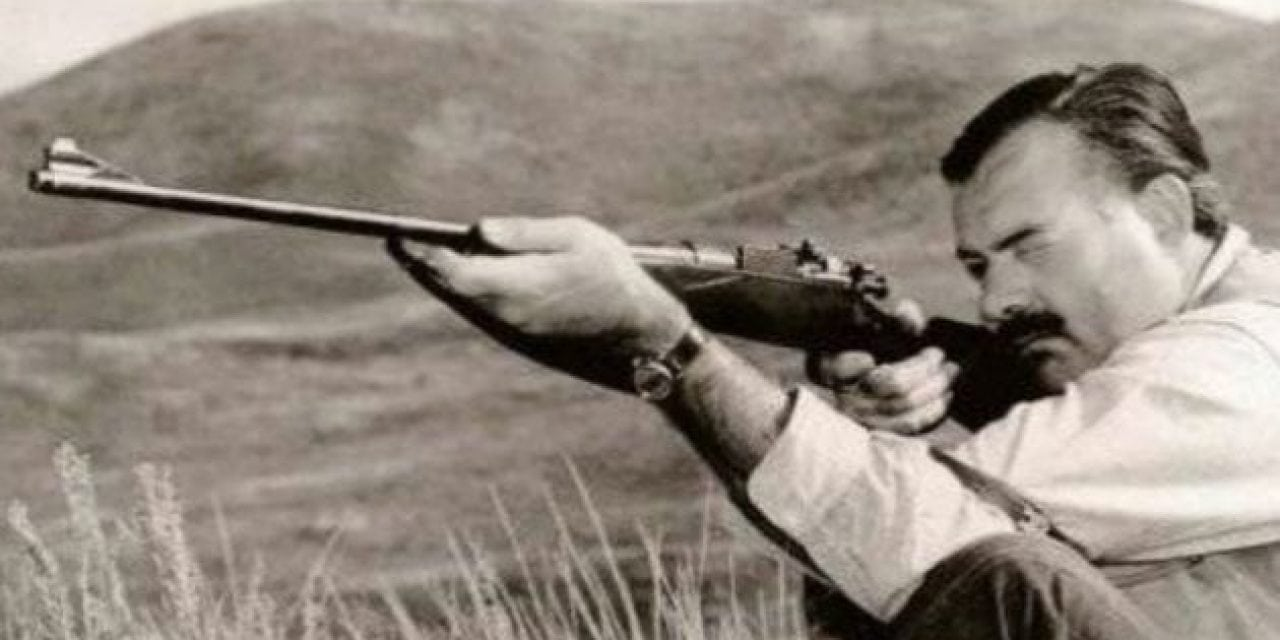 20 Awesome Hunting and Fishing Photos of Ernest Hemingway
