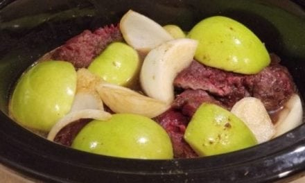 It Will Taste Like Fall With This Slow Cooker Apple Venison Tenderloin Recipe