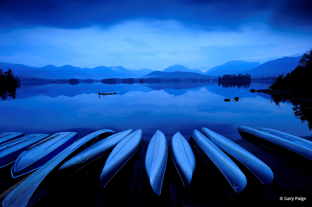 """Today's Photo Of The Day is """"Twilight on Elk Lake"""" by Gary Paige. Location: Adirondack Park, New York."""