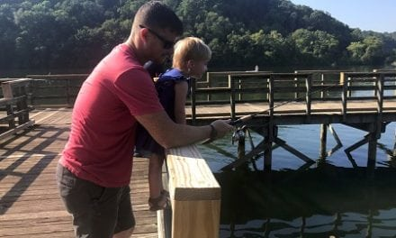 USA, UAW Host Youth Fishing Event to Dedicate Piers at Wolftever Creek Boat Ramp on Chickamauga Lake