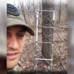 Hunter Finds Stolen Ladder on Private Property While Turkey Hunting