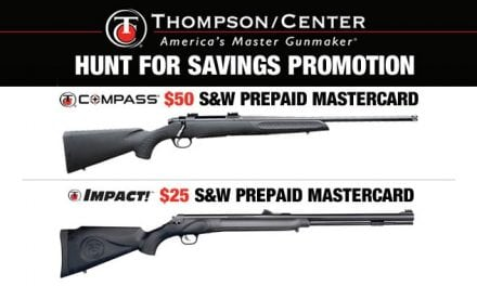 Thompson's Fall Promotion on Popular Hunting Rifles