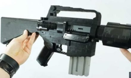Video: You Won't Believe the Detail on this Full-Size Lego Replica of an M16A1