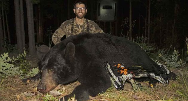 It Took Clay Newcomb 5 Years To Arrow This 550 Pound Oklahoma Black Bear