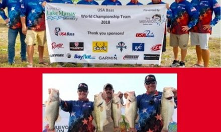 USA Team Wins Gold at Bass World Championships in Mexico