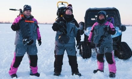 Women Ice Angler Project on Lake Superior's Chequamegon Bay Jan. 23-27