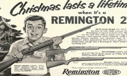 7 Vintage Christmas Gun Ads You Might Remember