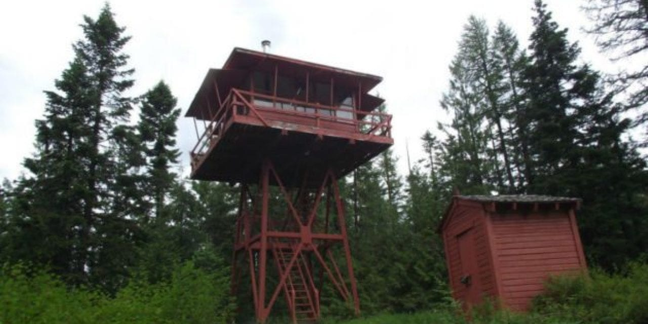 Could You Live in a Converted Idaho Fire Lookout?
