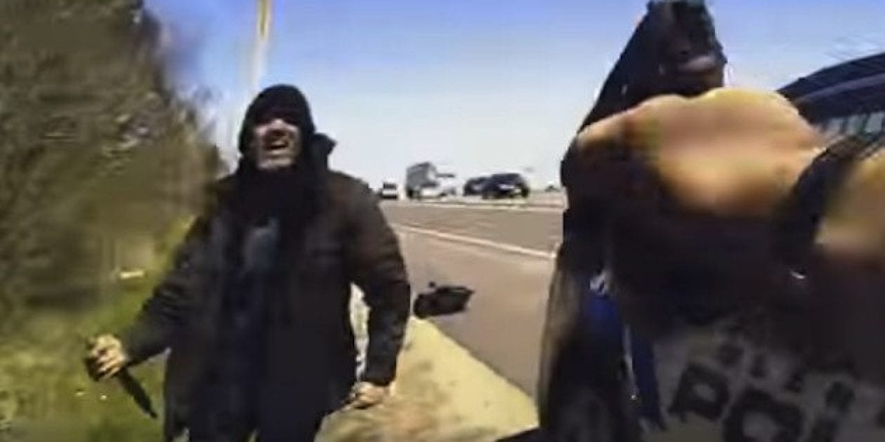 Crazy Body Cam Footage Shows a Police Officer Shooting a Murder Suspect