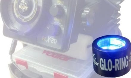 Vexilar's Glo-Ring For Your Glo Lures