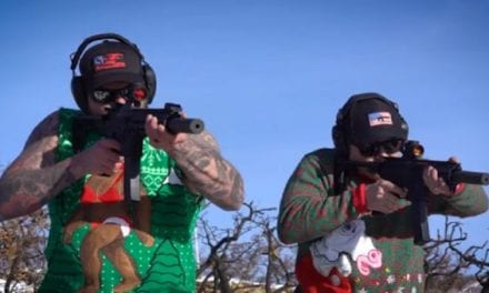 Who's Ready for Christmas Carols…Played with Guns?