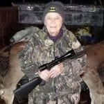 101-Year-Old Woman Shoots Two Deer With One Shot