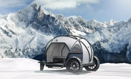 BMW Made a Waterproof Camper Out of The North Face Futurelight Material