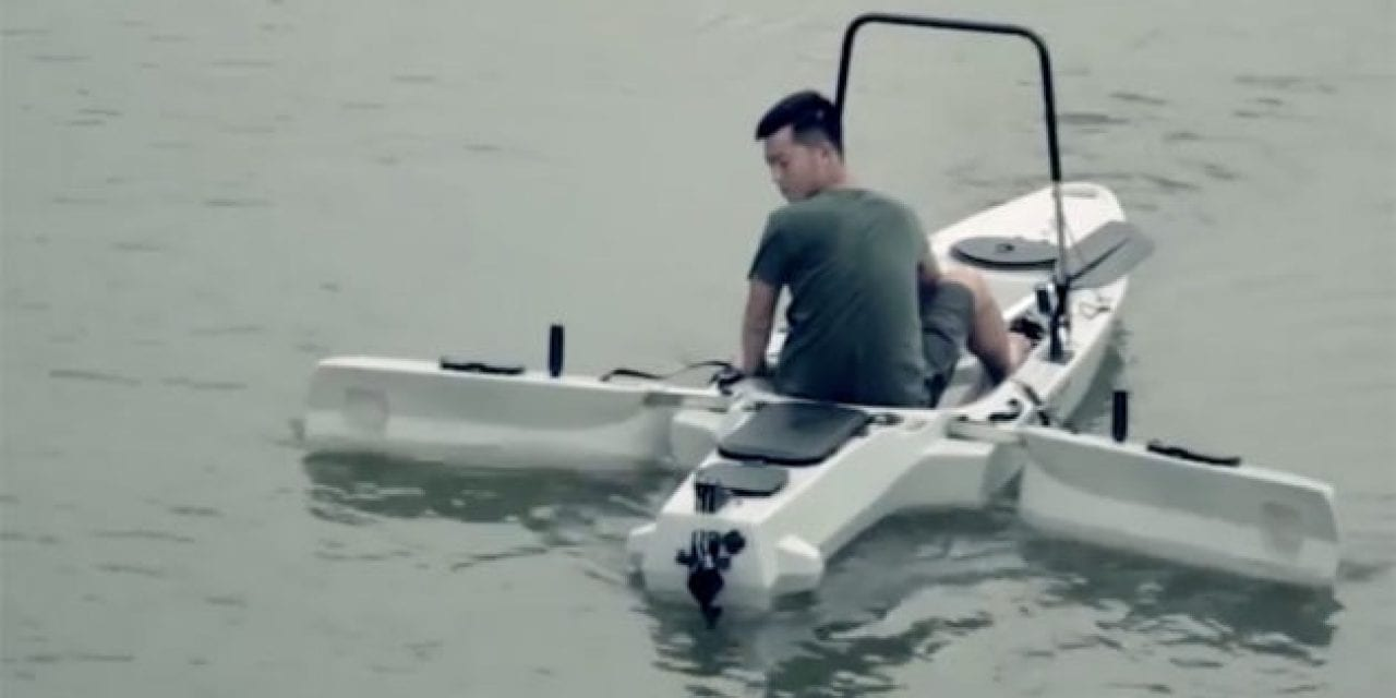 Can You See Yourself Atop This Ultimate Fishing Kayak?