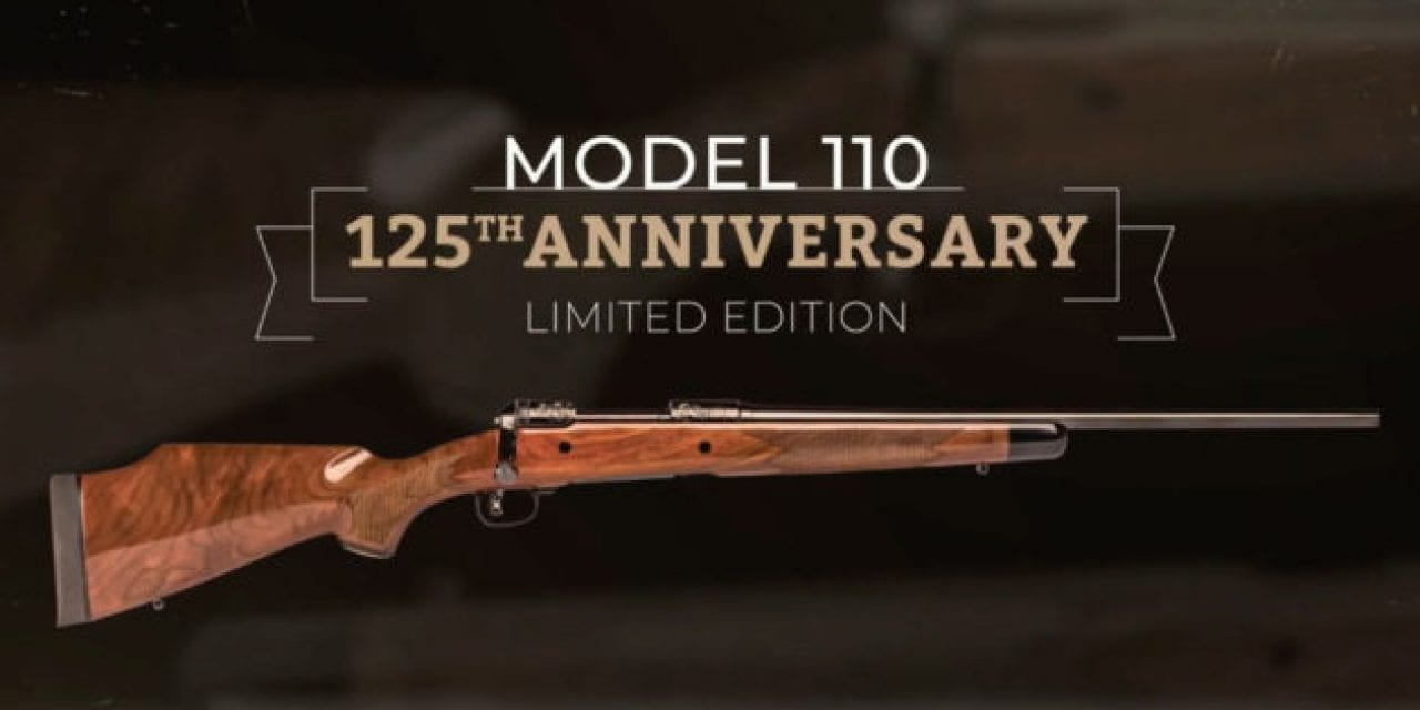 Savage Arms Unveils 125th Anniversary Edition Model 110