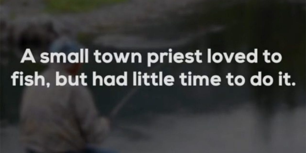 This Sinful Fishing Joke Might Get You in Trouble