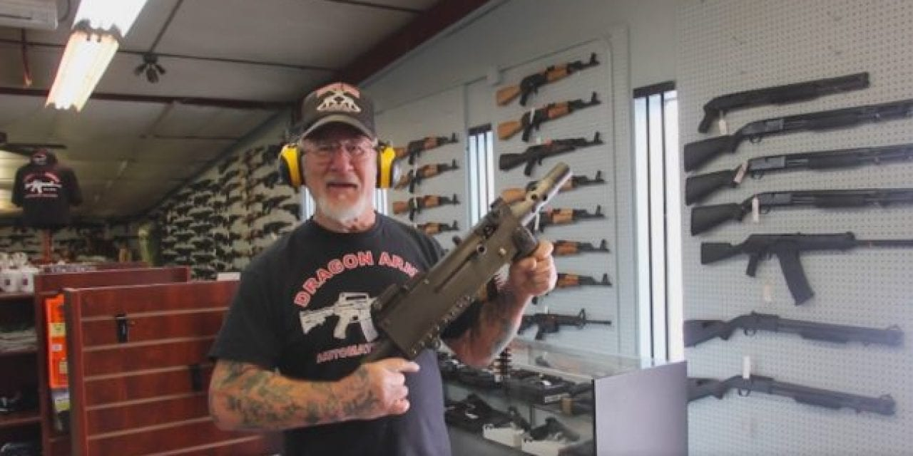 VIDEO: Dragonman Spraying Ammo With a WWII Browning Machine Gun Will Make Your Day