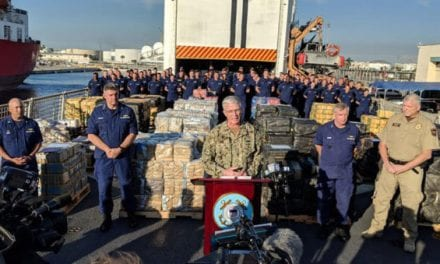$466 Million Worth of Cocaine Seized in Pacific